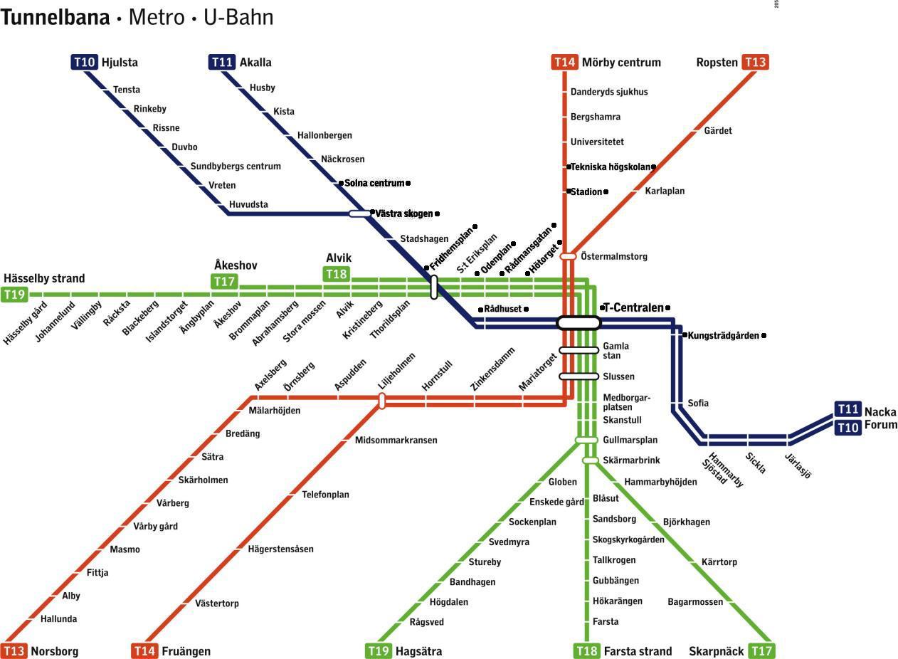 bana térkép T bana térkép   Stockholm t térkép (Södermanland, Uppland